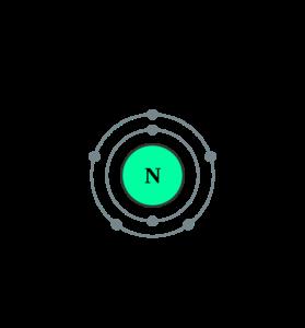 Электронная оболочка азота