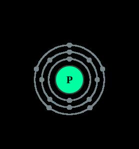 Электронная оболочка фосфора