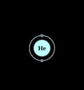 Электронная оболочка гелия