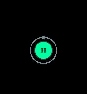 Электронная оболочка водорода