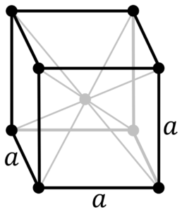 Кристаллическая решетка бария
